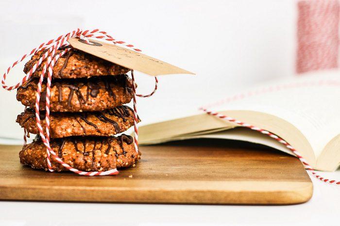 Cookies de Aveia e Chocolate
