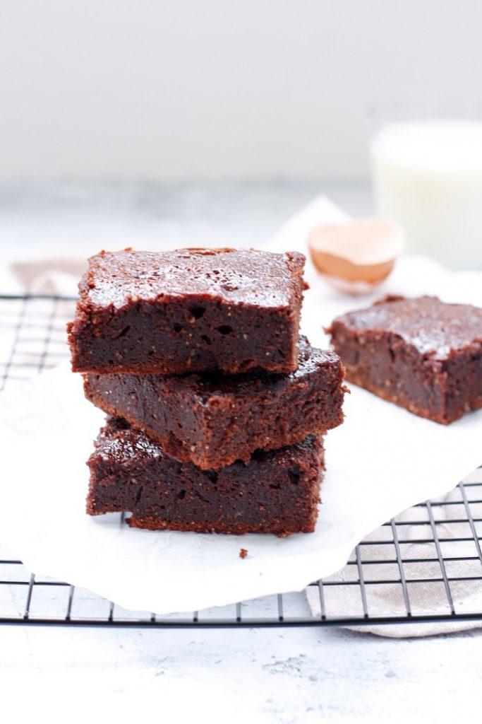 Brownies de Chocolate e Farinha de Amêndoa