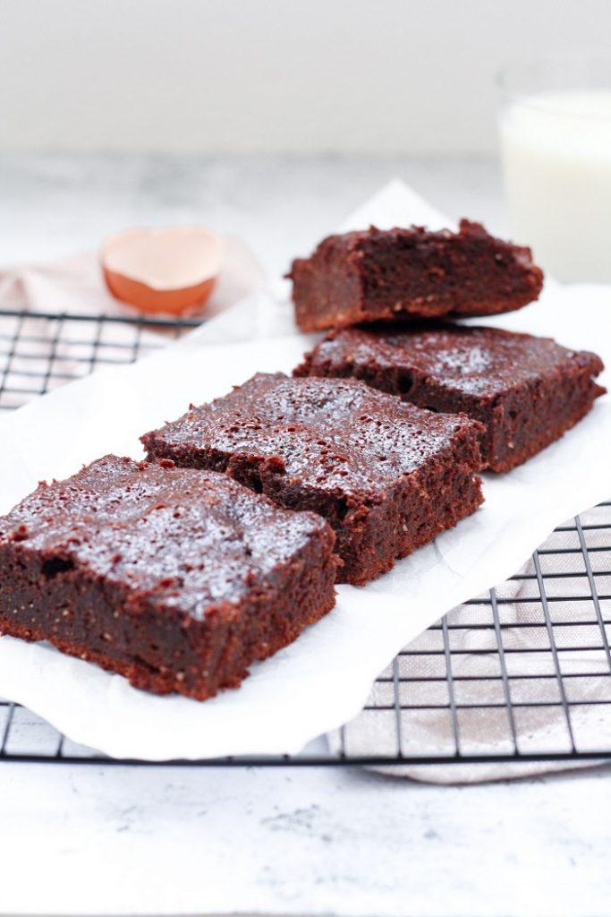 Brownies de Chocolate e Farinha de Amêndoa 2
