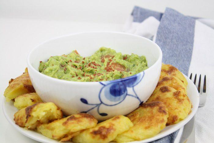 Batatas gratinadas com guacamole 3